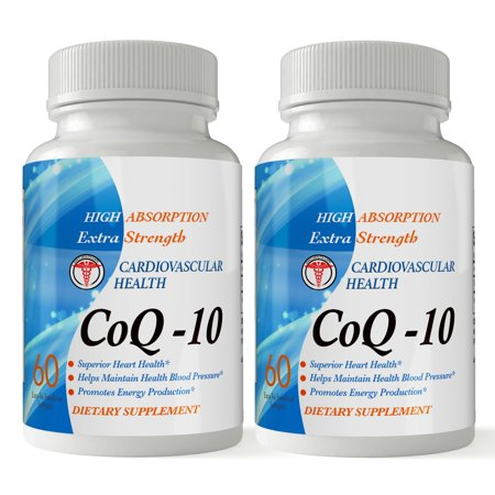 Totally Products CoQ-10 High Absorption Extra Strength 120mg (60