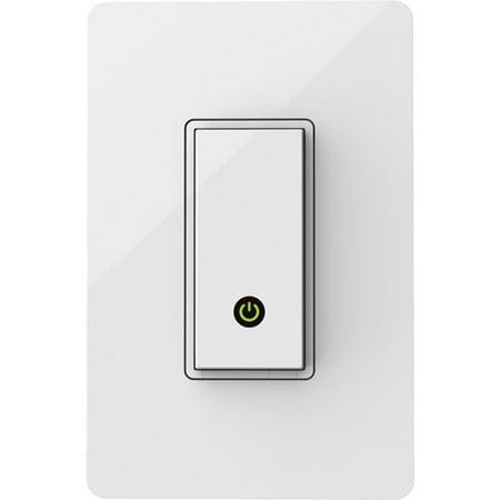 Belkin F7c030fc Wemo Light Switch White Light Gray