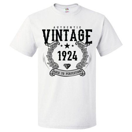 95th Birthday Gift For 95 Year Old 1924 Aged To Perfection T Shirt Gift