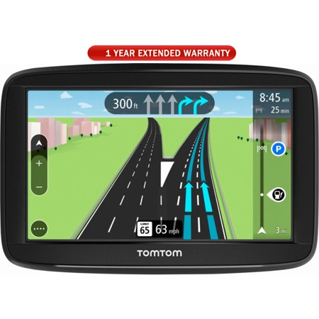 """TomTom Automobile Portable 5"""" GPS Navigator With Lifetime Maps (1AA5.019.00) with 1 Year Extended Warranty"""