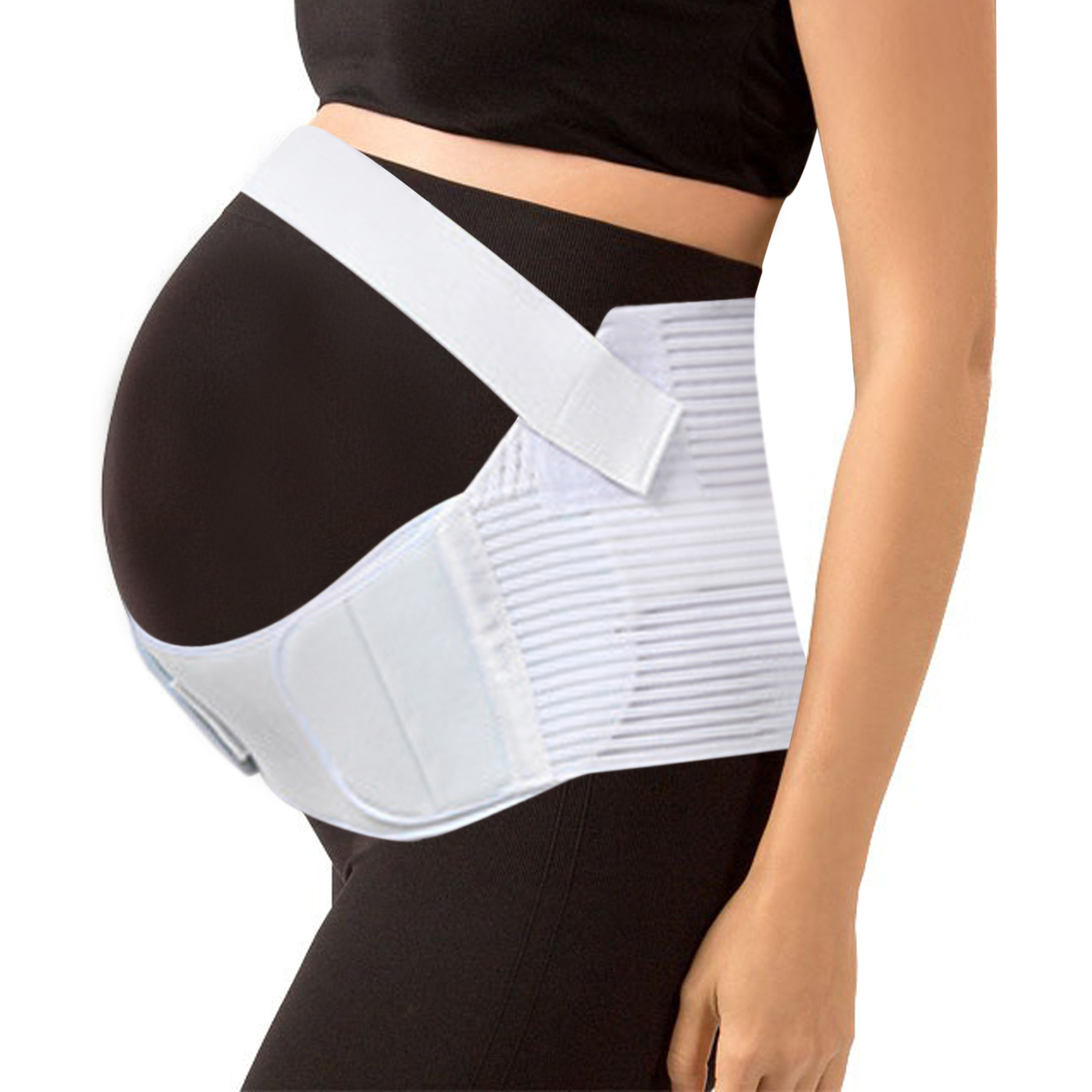 Maternity Support Belt Waist Abdomen Belly Back Brace Band