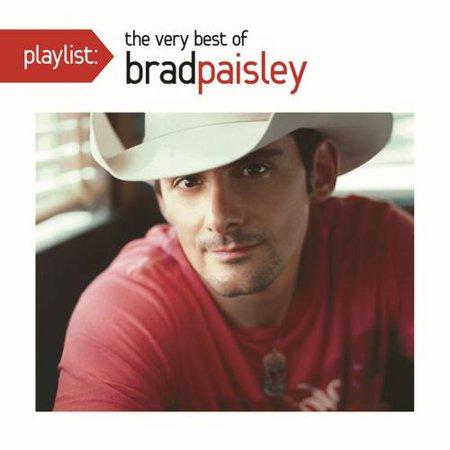 Brad Paisley   Playlist  The Very Best Of Brad Paisley  Cd