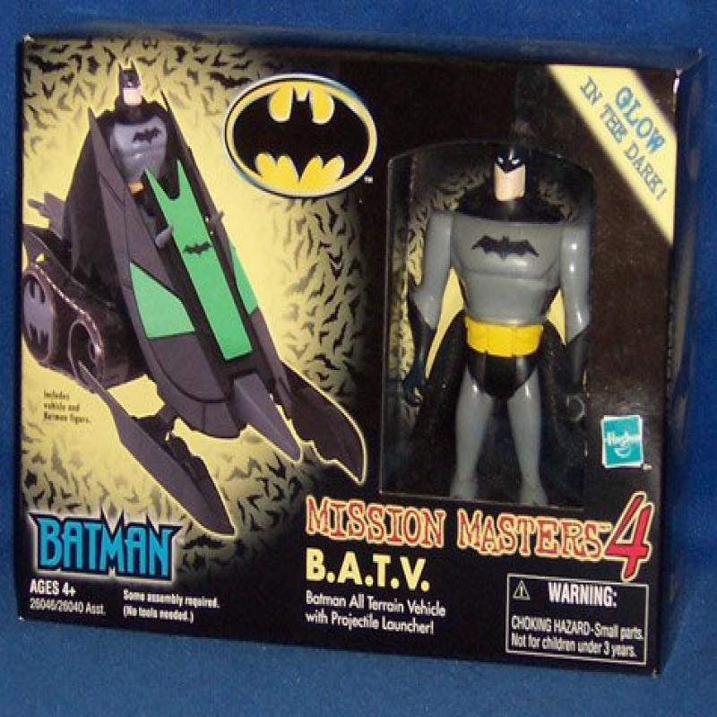 Batman Mission Masters 4 B.A.T.V. With Figure by