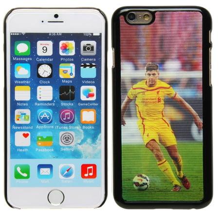 Steven Gerrard Liverpool FC iPhone 6 3D Durable Player Case - No