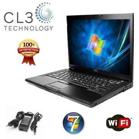 Refurbished Dell Latitude E4300 Laptop Sleek 13.3' LCD DVD WIFI Windows 7 Pro Notebook + 4GB RAM