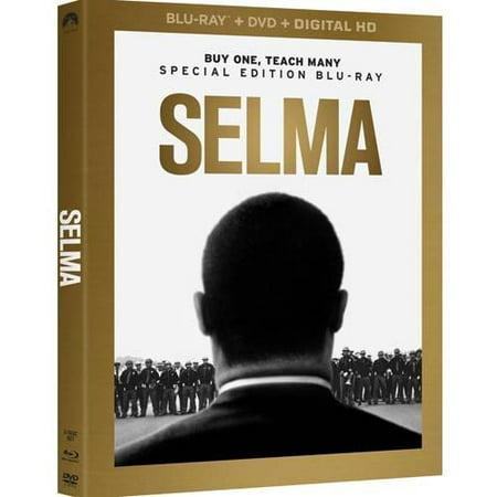 - Selma (Blu-ray + DVD + Digital HD + Bonus Disc) (Walmart Exclusive)