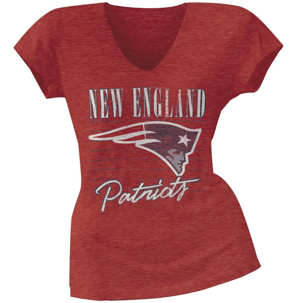 New England Patriots - Scrum Logo Premium Juniors T-Shirt