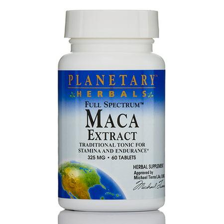 Planetary Formulas Planetary Herbals Full Spectrum Maca Extract, 60 ea