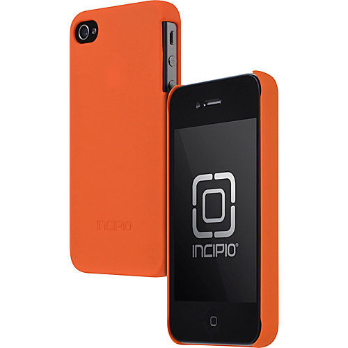 Incipio Feather Case for iPhone 4/4S, Safety Orange