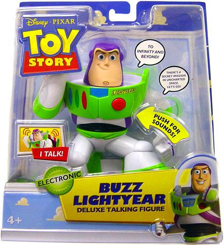 Mattel Toy Story 2 Buzz Lightyear Action Figure [Deluxe T...