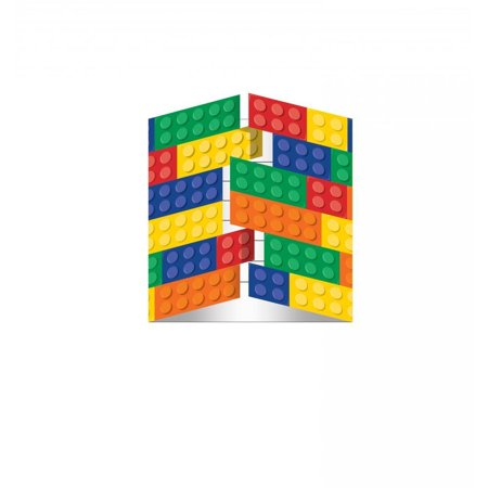 Creative Converting Block Party Invitation Gatefold, 8 ct](Block Party Invitation)