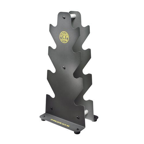 Gold's Gym Steel Dumbbell Rack by Icon Health and Fitness Inc.