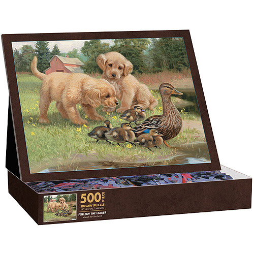 Follow the Leader Puzzle, 500 Pieces