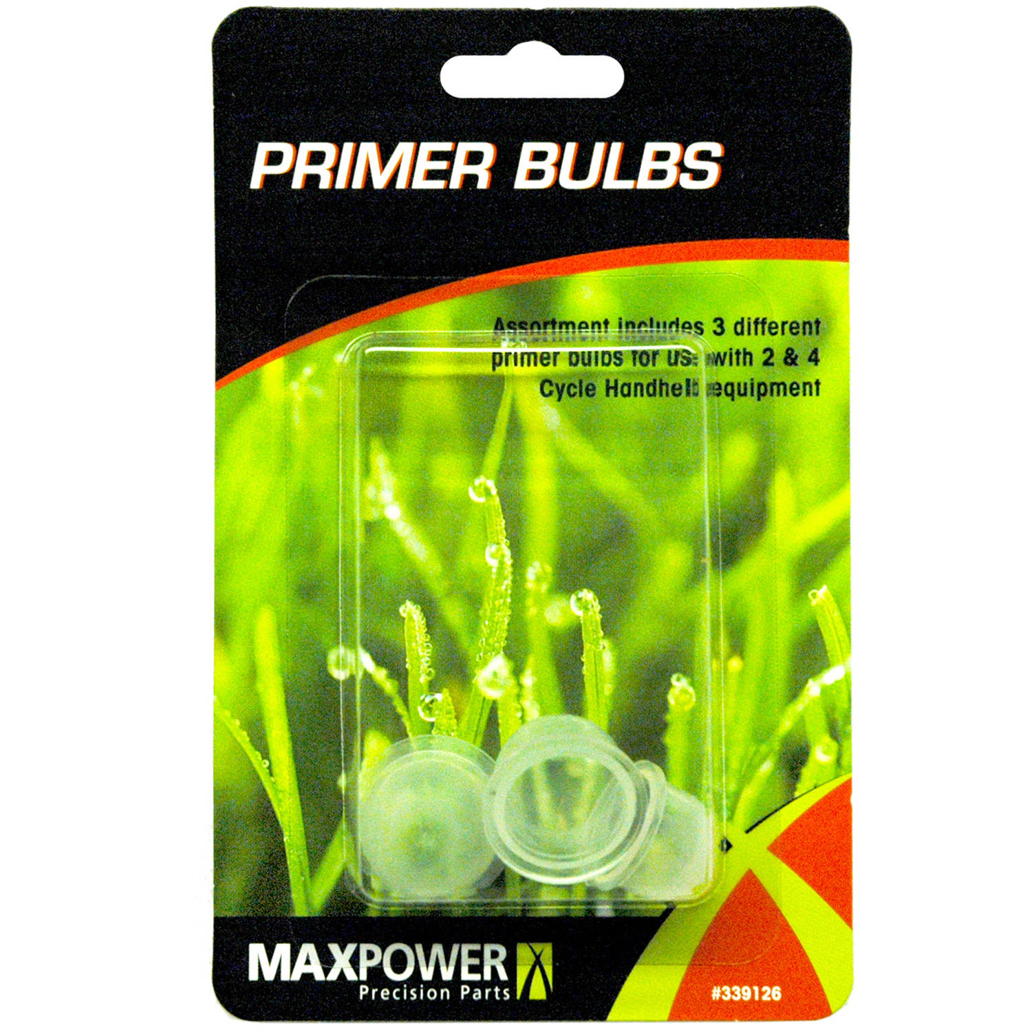 Maxpower 339126 Primer Bulb Combo Pack 3 Count