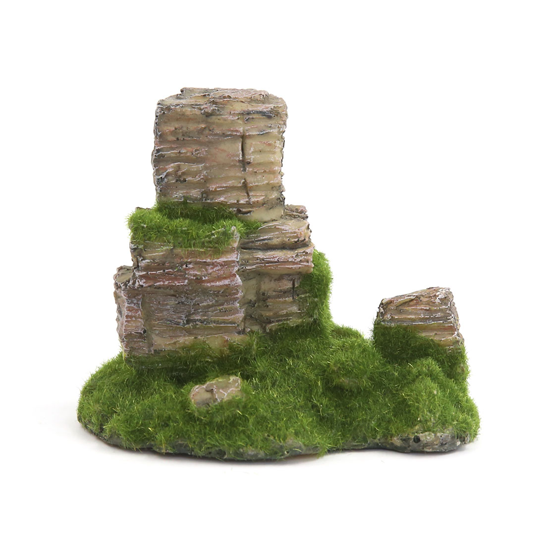 Aqua Landscape Artificial Tree Mountain Decoration 11x8x10cm