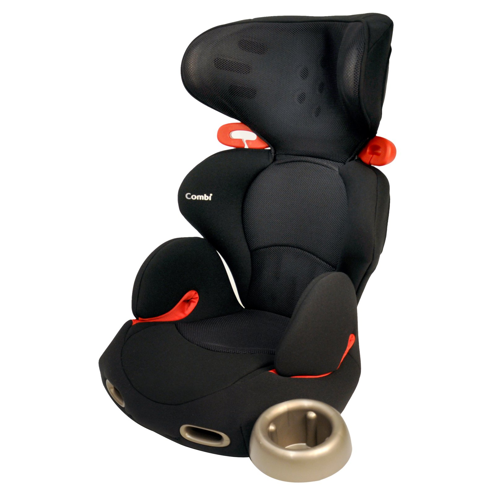 Combi Kobuk High Back Booster Car Seat, Licorice