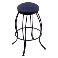 Holland Bar Stool Georgian 25 in. Swivel Counter Stool - Black Wrinkle