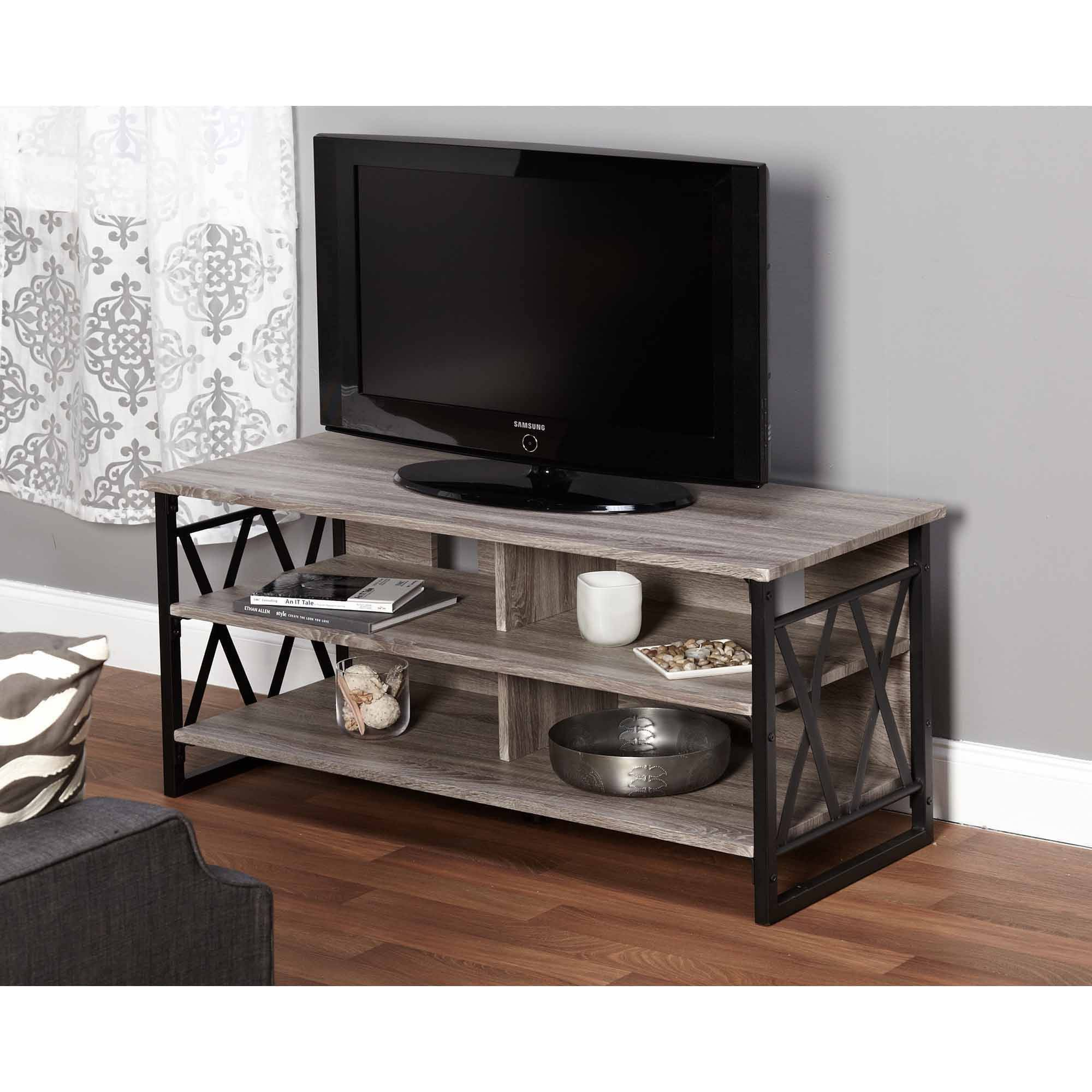 "LenyXX Collection TV Stand for TVs up to 48"", Multiple Finishes"