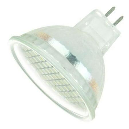 Sunlite 80096 - MR16/60LED/2.2W/GU5.3/WW/120V MR16 Flood LED Light (Led Mr16 Flood Bulb)
