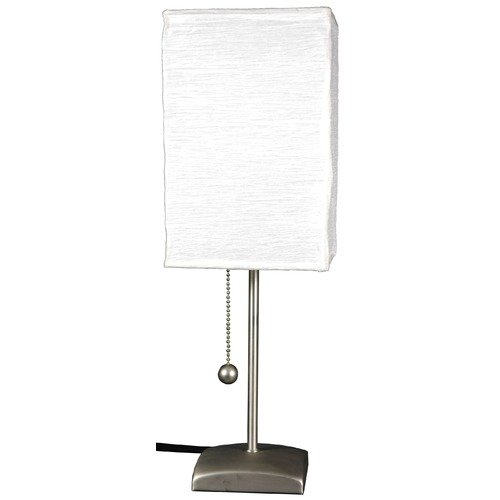 Oriental Furniture Yoko 17'' H Table Lamp with Rectangular Shade