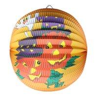 (Toponeto) Halloween Pumpkin Paper Lantern, Hanging Light Party