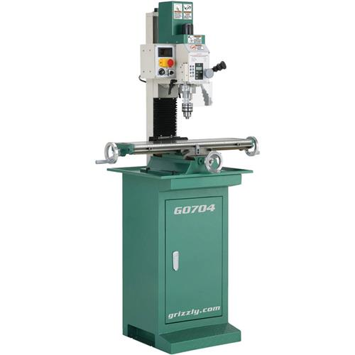 Grizzly Industrial G0704 Mill/Drill with Stand