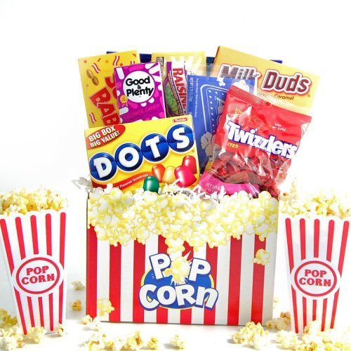 Movie Snacks & Popcorn Gift Box
