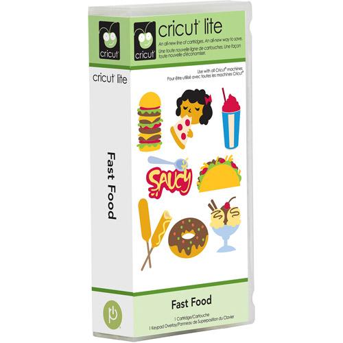 Cricut Lite Fast Food Cartridge