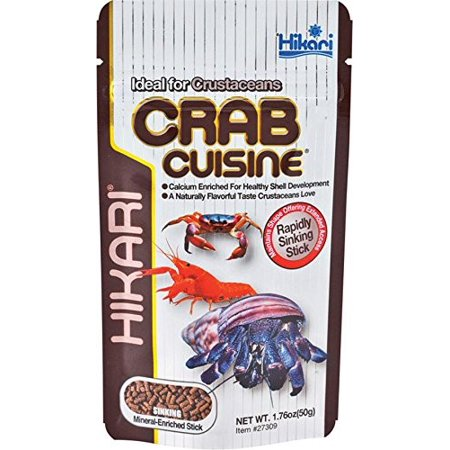 - Hikari Tropical Crab Cuisine Fish Food, 1.76 Oz