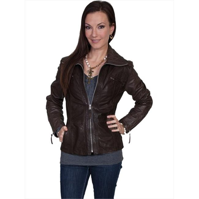 Scully L30-198-S Womens Leather Jacket - Black, Small
