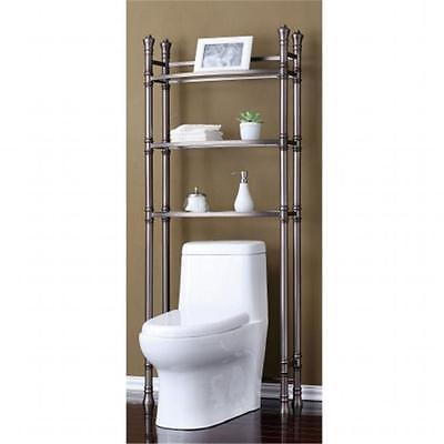 BrandNew Best Living BE100502-TN Bath Etagere Space saver Brushed Titanium Furniture GSS180193025 by GSS