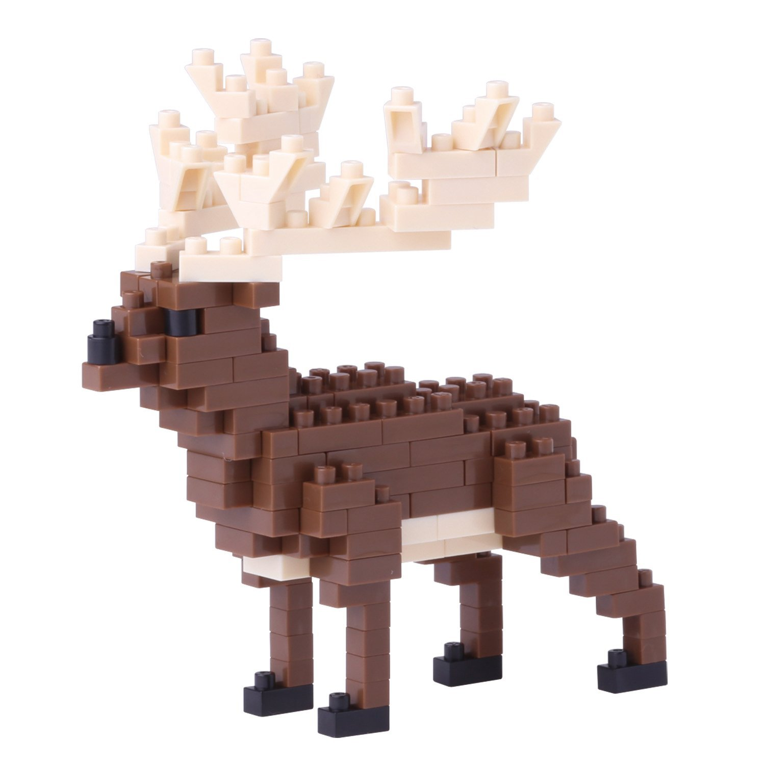 Irish Elk Building Kit, Majestic and stately, this elk has dramatic antlers and a regal... by