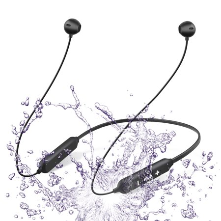 EEEKit Wireless Sports Headphones Latest Bluetooth 5.0 Magnetic Earphones Rechargeable IPX5 Waterproof Stereo Sound Noise Isolation Headset with Mic for Samsung iPhone LG Tablets