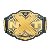 Official WWE Authentic NXT Championship Toy Title Belt Gold