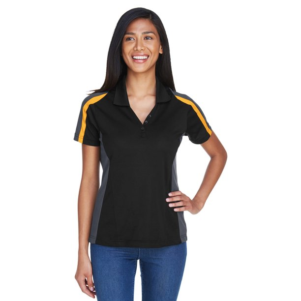 Ash City - Extreme Ladies' Eperformance™ Strike Colorblock Snag Protection Polo - 75119