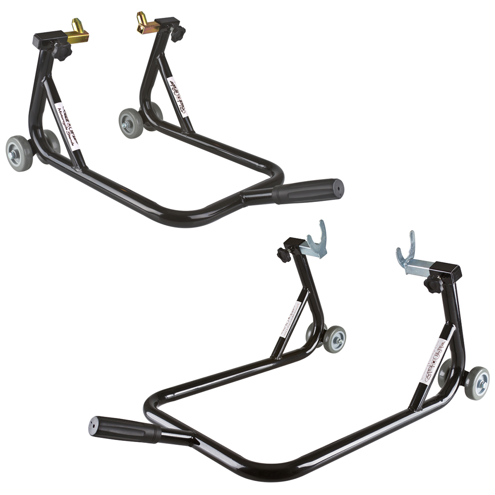 BW-06-14 Front & Rear Motorcycle Stand Kit (Pair)