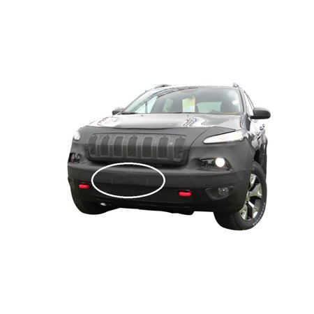 LeBra Front End Mask Cover-551518-01 fits Jeep Cherokee Trailhawk 2014,2015,2016,2017 (Without front sensors)