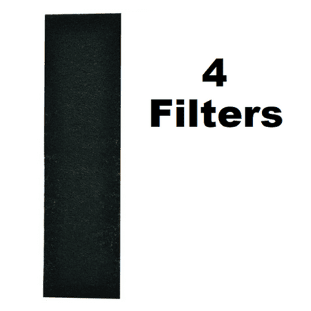 Microwave Charcoal Carbon Filter for Frigidaire 5304440335 5304467774 4 Pack