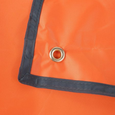 New 180*220CM OUTAD Waterproof Camping Tarp For Picnics Tent Footprint And Sunshade 210D Oxford Fabric Orange~~