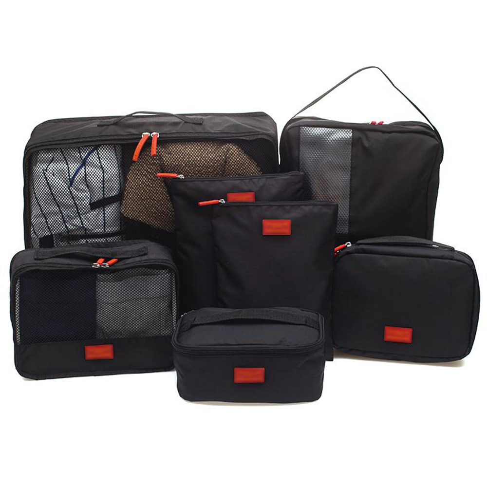6x//Set Storage Bags Clothes Pouch Case Luggage Organizer Packing Cube Travel Kit
