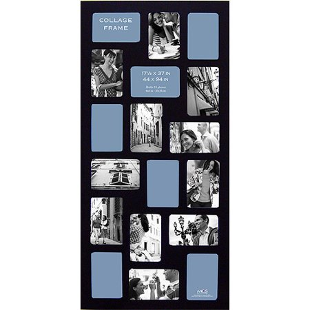 gateway collagestyle picture frame black 175x37