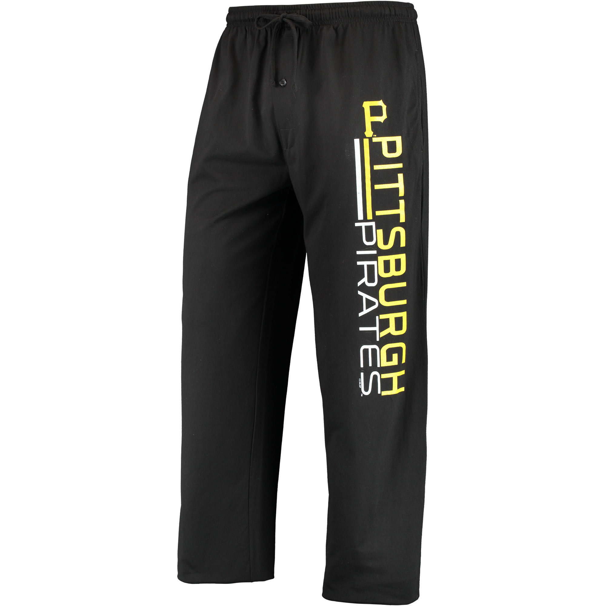 Pittsburgh Pirates Concepts Sport NBO Knit Pants - Black
