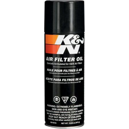 K&N Engineering 99-0516 Air Filter Oil - 12oz. Aerosol Can