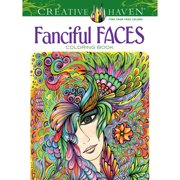 Dover Creative Haven Coloring Book, Fanciful Faces