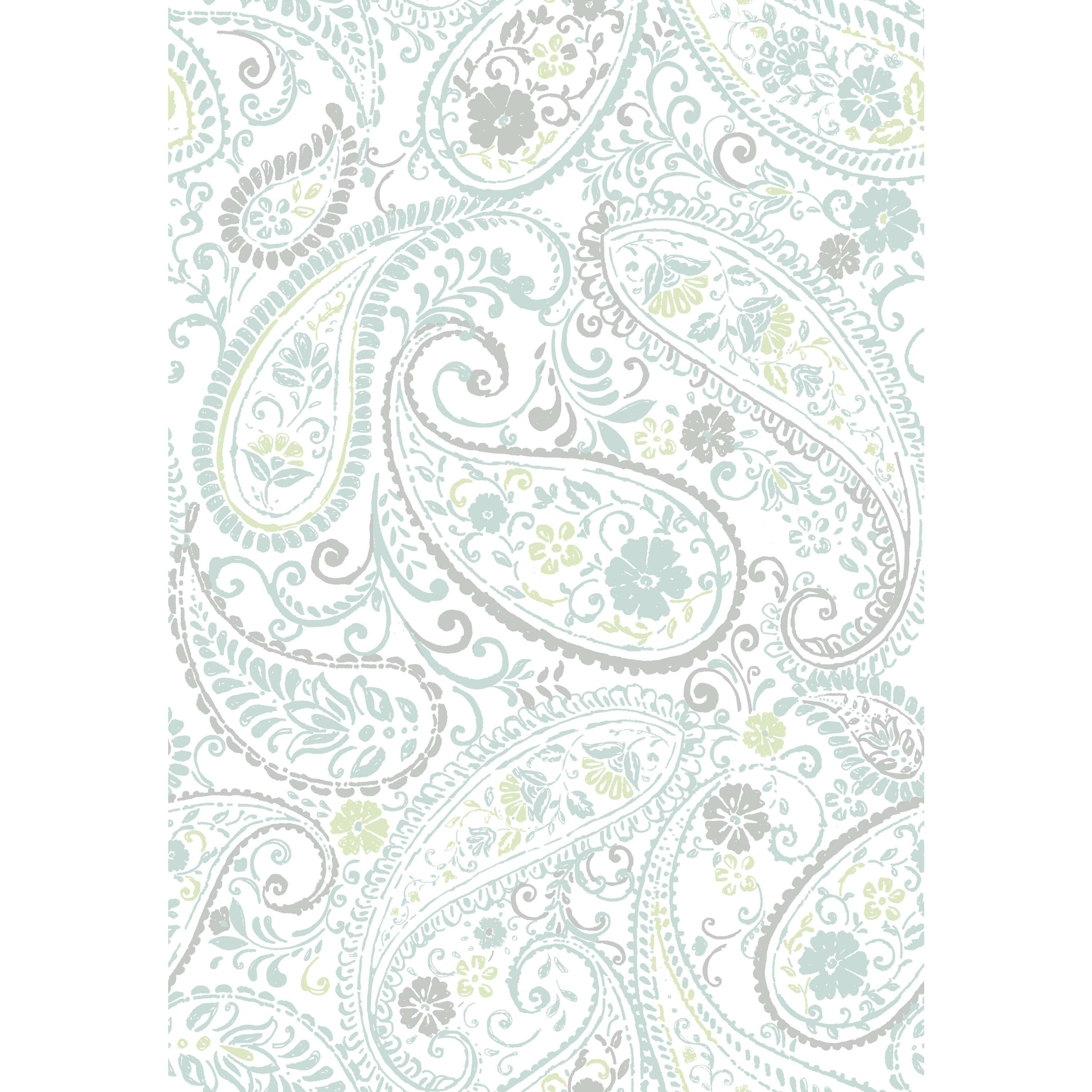 RoomMates Paisley Prince Peel and Stick Wallpaper ...