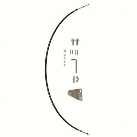 Honda 06533-JTM-460AH  06533-JTM-460AH Tiller Handle Shift Cable Assembly for BF40J BF60J BF65J BF90 (Jet Models With Troll Control); 06533JTM460AH (Tiller Handle For Mercury)