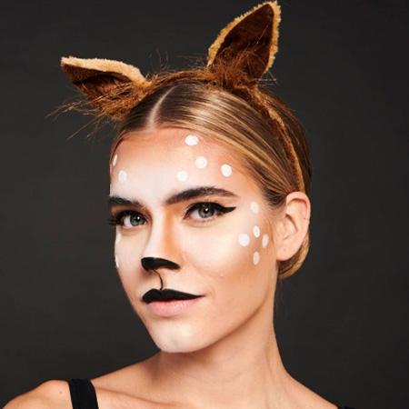 Deer Halloween Makeup Collection