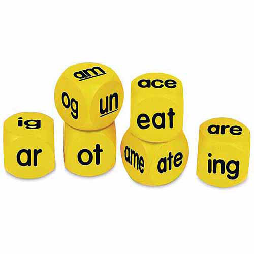 Learning Resources Phonics Cubes Class Set