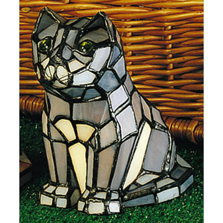 Meyda Tiffany Handkerchief (Meyda Tiffany 11323 Stained Glass / Tiffany Specialty Lamp from the Animal Sculptures Collection)