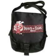 Attack On Titan Titan Red Anime Messenger Bag
